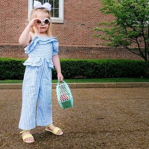 Genuine Kids Family Collection Striped Jumpsuit